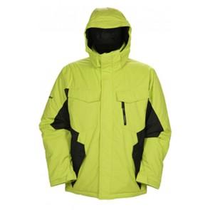Snowboardjacket Ripzone Blackout Lime/Black