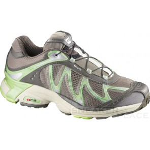 Salomon XT Whisper Women brown mid grey/lizard green shoes