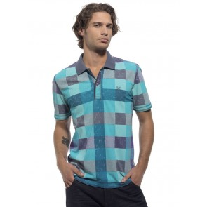 Oxbow Poloshirt Trucker light blue/blue