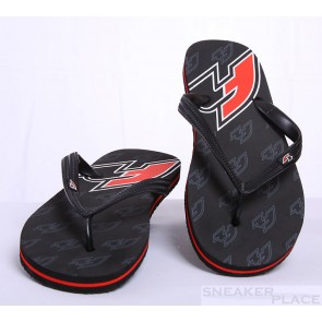 F2 casual shoes black/red