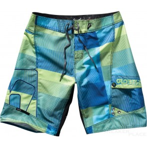 Globe Boardshort bathing pants Green Flasch