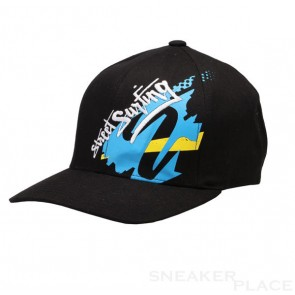 Street Surf Cap Malibu FlexFit Junior black/blue