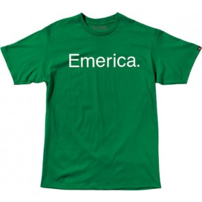 Emerica Youth Pure 7.0 T Shirt green / white