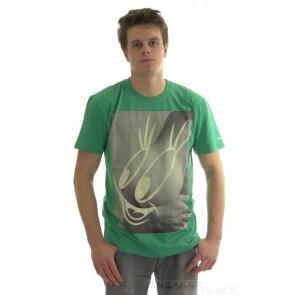 Globe T-Shirt Titface green