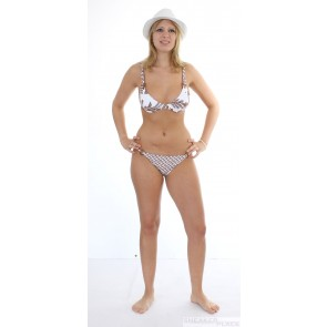 Jenna De Rosnay Pineapple 2 brown bikini
