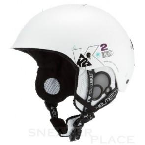 K2 Clutch Pro snowboard helmet white metallic