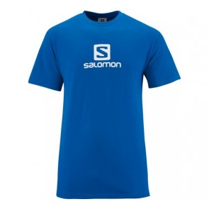 Salomon Cotton T-Shirt for men blue