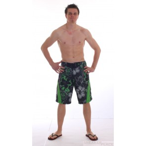 Oxbow Boardshort Remo Black/Kiwi