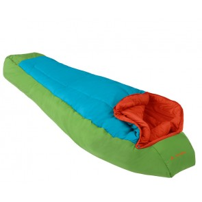 Vaude Dreamer red sleeping bag for apple