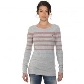 Ladies Shirt Grey Longsleeve Dunkan