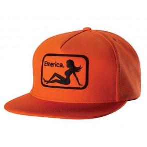 Emerica Cap Cap INTERSTATE SNAPBACK Orange