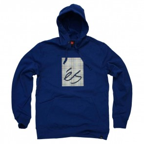 ES Sweat STE Mainblock Fill Hood royal