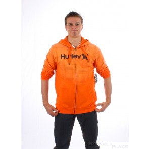 Hurley Zip Hooded Puerto Rico Gravity Orange