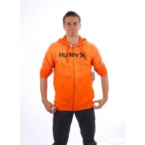 Hurley Zip Hooded Puerto Rico Gravity Orange