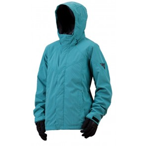 Bonfire Kiso Jacket aquamarine/black women