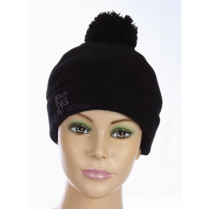 Oxbow Girls Beanie Maple Black