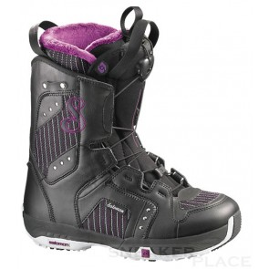 Salomon Pearl 09 snowboard boots women black