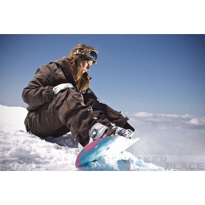 Woman Snowboard Pants Ranya Brown