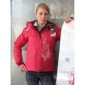 Oxbow Ladies Snowboard Jacket Rebyle Pink Lady