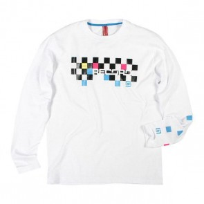Record Longsleeve  Bury white