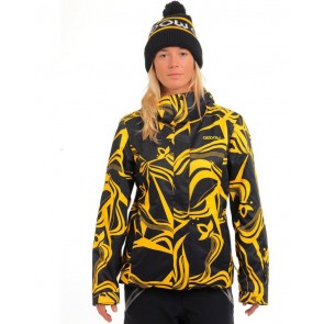 Oxbow Damensnowboardjacke printed jacket FEELAIR REINA Sun