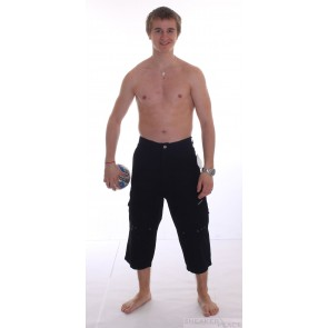 Ripzone 3/4 trousers black