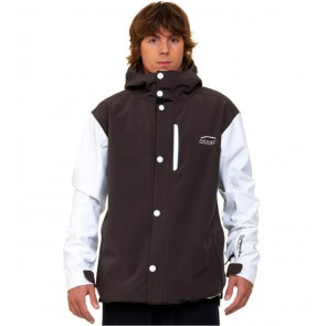 Oxbow Softshell Skijacket Rintaro coffee