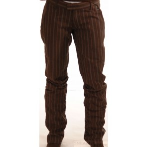 Ragwear Lead A pants black/brown Stripes