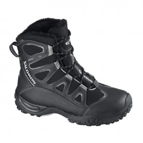 Salomon Snowcat CS WP W black/black/chalk grey