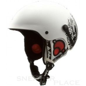 K2 Shadow Marker kids helmet white