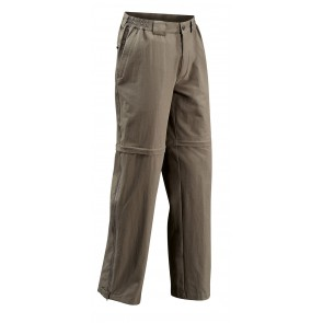 VAUDE Men Farley Stretch T-Zip Pants lightbrown
