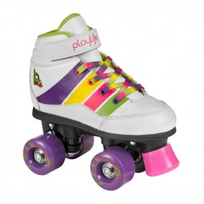 Playlife Groove white roller skates for kids