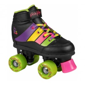 Playlife Groove black roller skates for kids