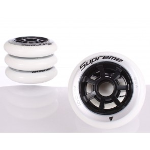 Rollerblade Supreme 100mm / 85A wheels 6-pack