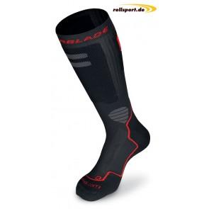 Rollerblade socks black red