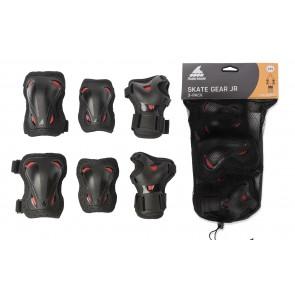 Rollerblade Kids protective gear set black / red