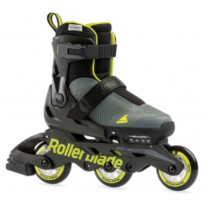 Rollerblade Microblade FREE 3WD kids skates anthracite / lime