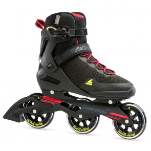 Rollerblade Sirio 100 3WD Men black / red / yellow