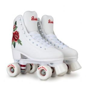 Rookie roller skates pink white