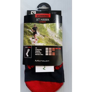 Salomon sport socks black red