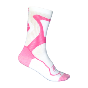 Seba FR Nano sport socks white pink