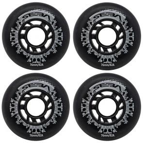 Seba Street Kings Wheels 76mm / 82a 4-Pack